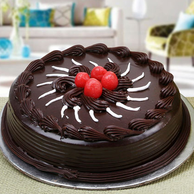 send Chocolate Truffel cake to solapur