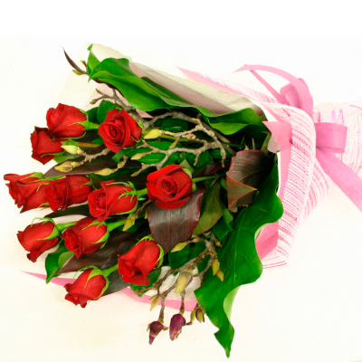 send Red Roses Bouquet to solapur