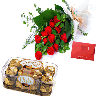 send Bunch of  25 Mixed Roses to solapur